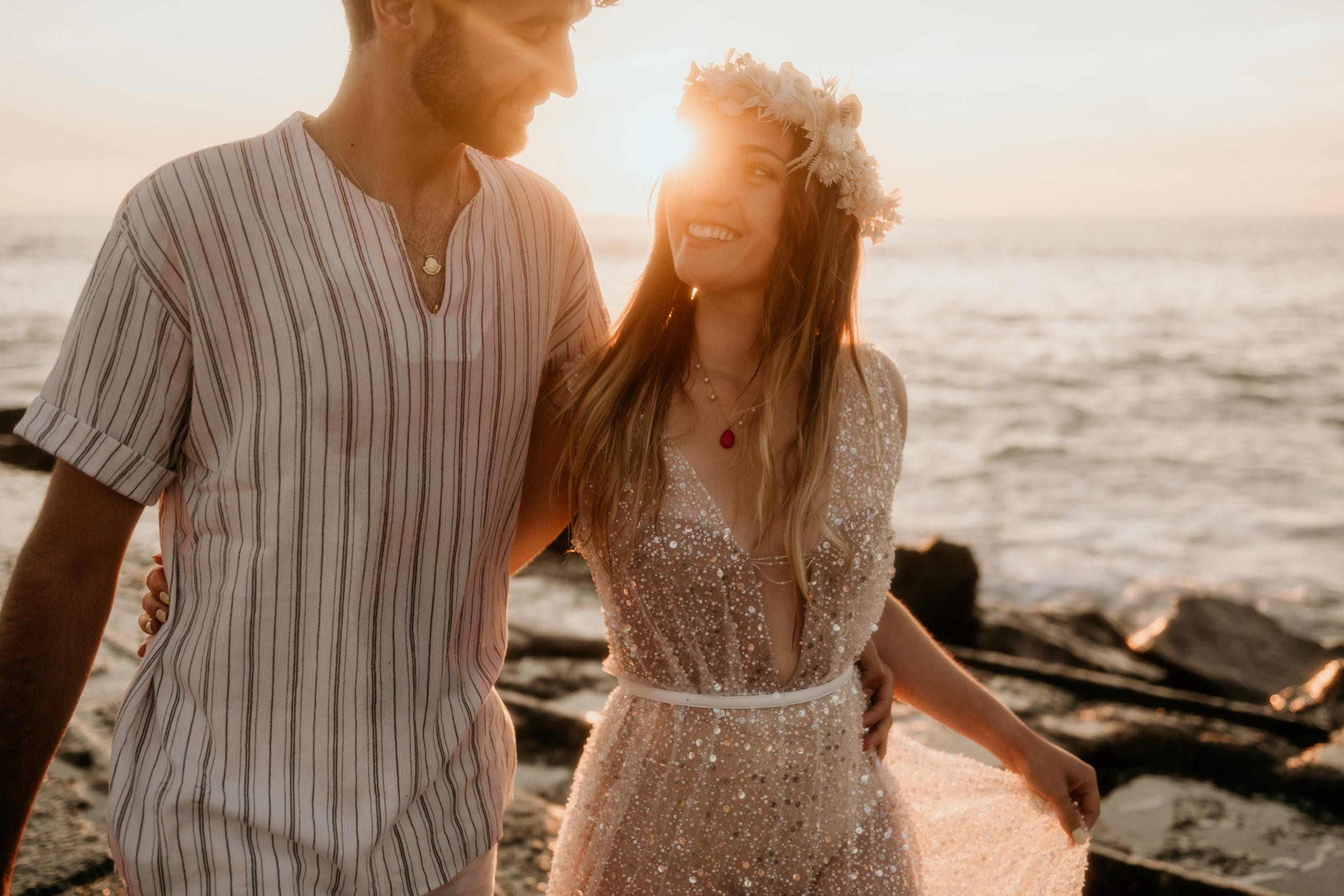 Ocean Lovers   Un mariage intime sur la plage